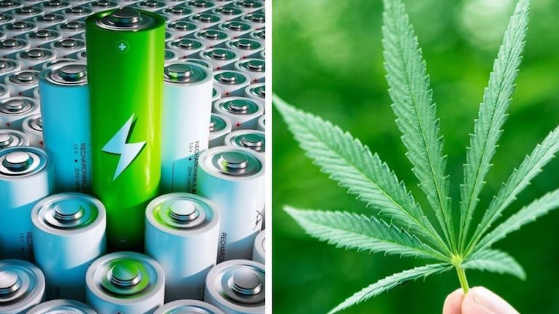 Scientists Discovered that Hemp batteries are eight times more powerful than Lithium